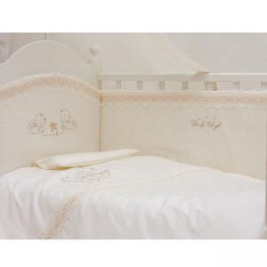 Комплект в кроватку  Lovely Angels 120х60 (6 предметов) Makkaroni Kids
