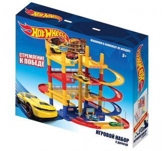 Игровой набор парковка с дорогой Hot Wheels