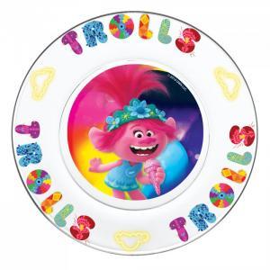 ND Play Набор посуды из стекла Тролли 2 Серия Поп (3 предмета)