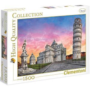 Пазл  Пизанская башня, 1500 элементов Clementoni