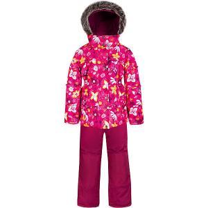 Комплект  by Gusti: куртка, полукомбинезон Zingaro. Цвет: белый