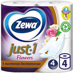 Туалетная бумага  Just1 Aroma , 4 слоя, рулона Zewa