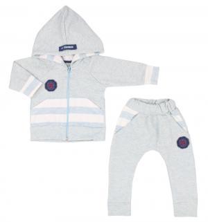 Спортивный костюм брюки/джемпер  Cool kids, цвет: голубой Gamex