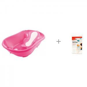 Ванночка Onda Evolution и коврик для ванной Clippasafe Ok Baby