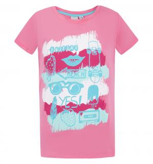 Футболка  Пляж, цвет: розовый IcePeak