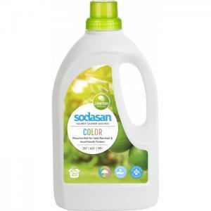 Жидкое средство для стирки цветных вещей 1.5 л Sodasan