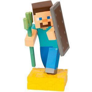 Фигурка  Adventure figures Steve 4 серия, 10 см Minecraft. Цвет: weiß/beige
