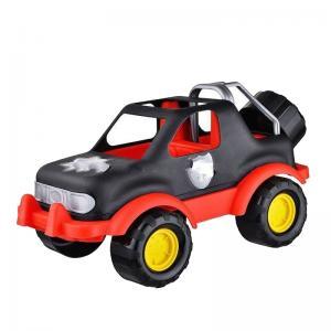 Джип  красно-чёрный ZebraToys