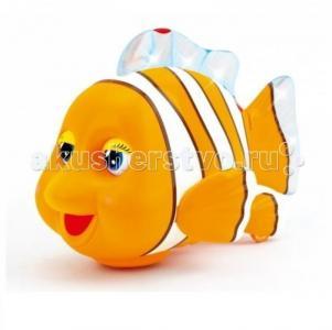 Интерактивная игрушка  Рыбка со звуковыми и световыми эффектами Huile Toys