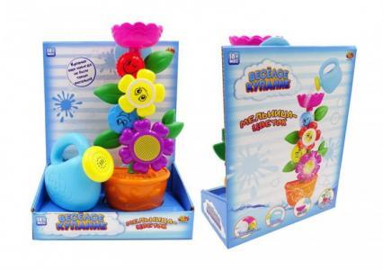 Цветок-мельница для ванной с лейкой Веселое купание ABtoys