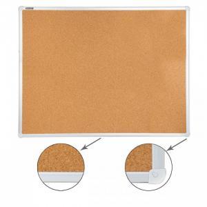 Доска пробковая для объявлений алюминиевая рамка 90х120 см Brauberg