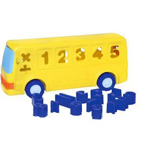 Развивающая игрушка-сортер -electronic Умный автобус Mommy Love. Цвет: blau/lila