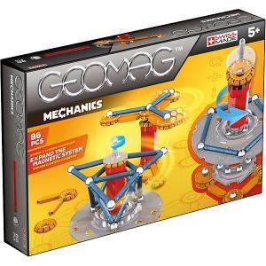 Магнитный конструктор  Механики, 86 деталей Geomag