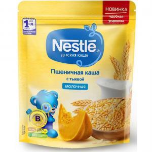 Каша  молочная пшеничная с тыквой Моя 1-ая Каша.Продолжаем прикорм 5 месяцев 220 г Nestle