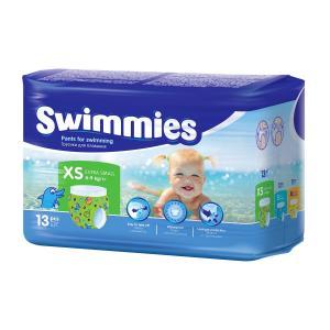 Трусики-подгузники  Swimmies, р. 3, 4-9 кг, 13 шт Helen Harper