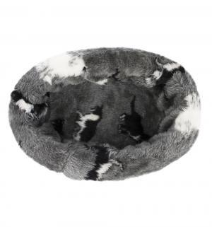 Лежанка для кошек  Pussy круглая, цвет: серый, 40см I.P.T.S.
