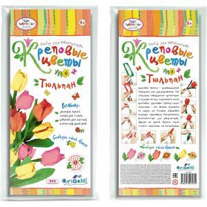Креповые цветы своими руками Тюльпан Чудо-Творчество
