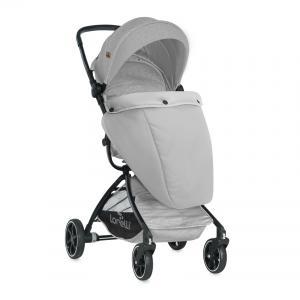 Прогулочная коляска  Sport с накидкой на ножки, цвет: grey Lorelli