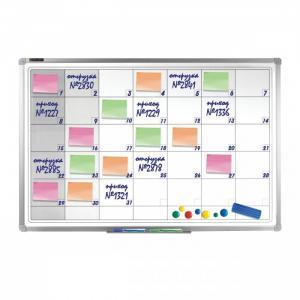 Доска-планинг магнитно-маркерная с алюминиевой рамкой 60х90 236863 Brauberg