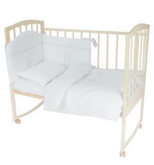 Комплект постельного белья  Chaton, цвет: белый 6 предметов Feretti