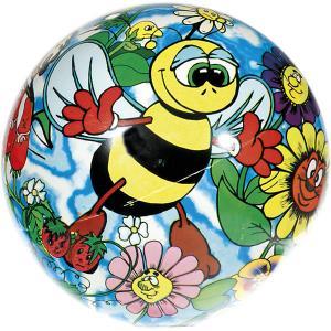 Мяч  Влюбленные пчелки, 23 см Dema-Stil. Цвет: gelb/grün