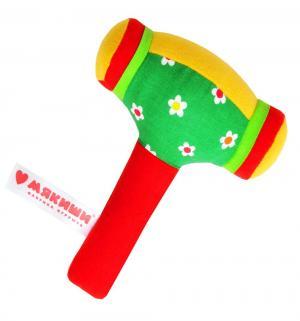 Развивающая игрушка  Шу Молоточек цвет: зеленый/красный Мякиши