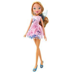 Кукла  Магическое сияние Флора, 28 см Winx Club