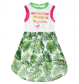 Платье , цвет: белый/зеленый Nota Bene