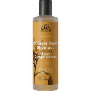 Шампунь для максимального восстановления волос Пряный цветок апельсина 250 мл Urtekram