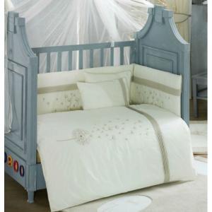 Комплект в кроватку  Blossom Linen (4 предмета) Kidboo