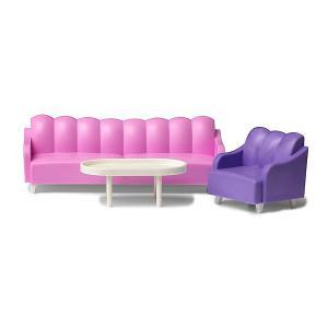 Мебель для домика  Базовый набор гостиной Lundby. Цвет: разноцветный