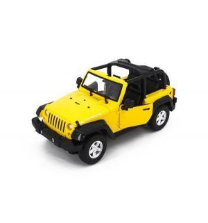 Джип на радиоуправлении  JEEP Rubicon Yellow (электропривод дверей) 30 см 1 : 14 MZ