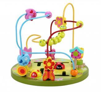 Деревянная игрушка  Лабиринт Цветочные горки Classic World
