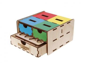 Деревянная игрушка  Комодик-плоский Фрукты овощи ягоды Woodland