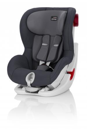 Детское автокресло Britax Roemer модель King II  Storm Grey Trendline, цвет: серый Mothercare