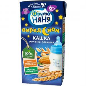 Каша  молочная Мультизлаковая с 6 месяцев 200 г ФрутоНяня