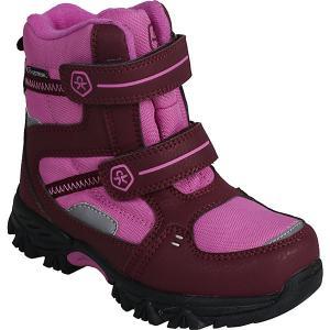 Утеплённые ботинки Color Kids Didde. Цвет: розовый