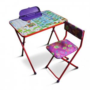Комплект детской мебели Умняшки первоклашки R-Toys