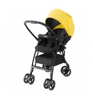 Прогулочная коляска  Luxuna air, цвет: желтый Aprica