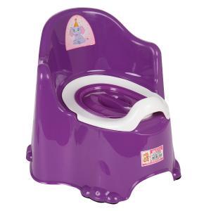 Горшок детский  Комфорт, цвет: фиолетовый Dunya