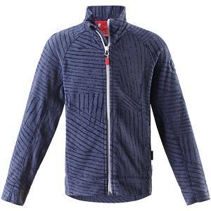 Куртка Poiju флисовая для мальчика Reima. Цвет: синий