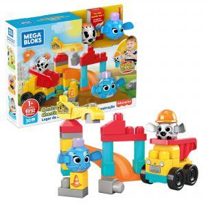 Конструктор  Маленькая стройка Mega Bloks