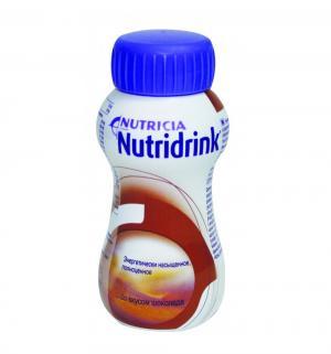 Молочная смесь  для энтерального питания Шоколад с 3 лет, 200 г, 1 шт Nutridrink