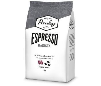 Кофе Espresso Barista зерно 1 кг Paulig
