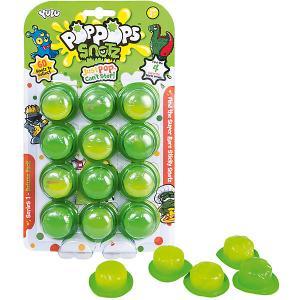 Игровой набор Yulu PopPops Snotz, 12 шт BANDAI. Цвет: зеленый