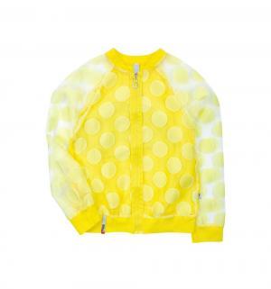 Кофта-бомбер , цвет: желтый Nota Bene