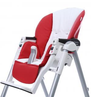 Чехол сменный  к стульчику для кормления Peg-Perego Diner Sport, цвет: red/white Esspero