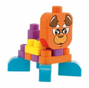 Конструктор  Животные 40 блоков Chicco