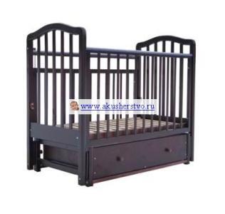 Детская кроватка  2 маятник продольный Лаура