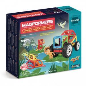 Конструктор  Магнитный Adventure Jungle 32 set Magformers